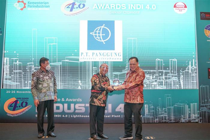 indi 4.0 award, pt panggung electric citrabuana